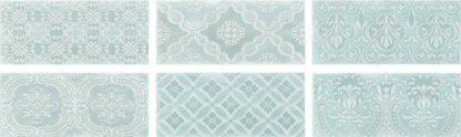 Maiolica tiles. Ceramic Wall Aqua Decor