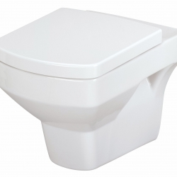 WALL-HUNG TOILET BOWL PURE