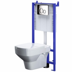 WALL MOUNTED TOILET SYSTEM SLIM&SILENT