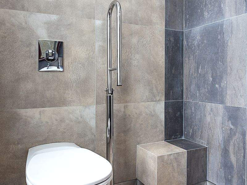 bathroom components must be available