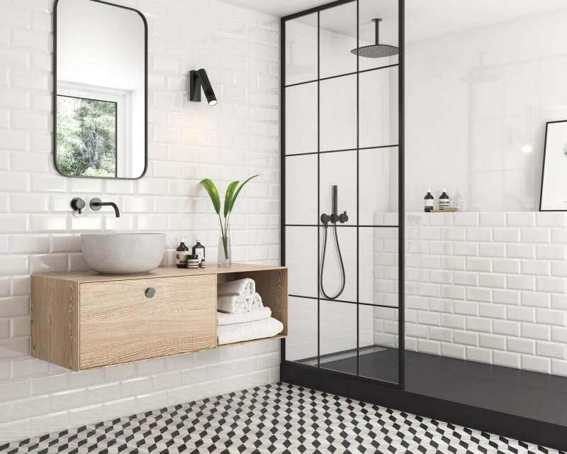 dark porcelain tiles chicago