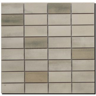 Floorwood White Beige Mix Mosaic 12x12