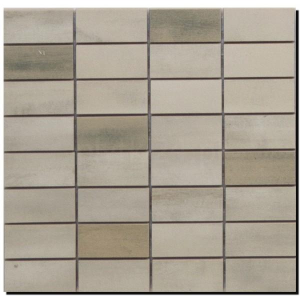 Floorwood White Beige Mix Mosaic 12x12